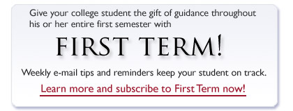 FirstTerm banner ad